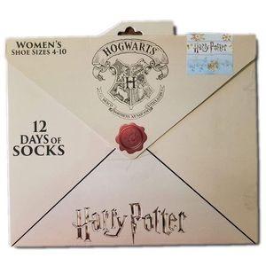 NEW Harry Potter 12 days of socks J175
